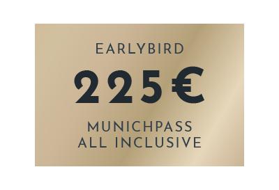 MUNICHPASS ALL INCLUSIVE für 225 Euro